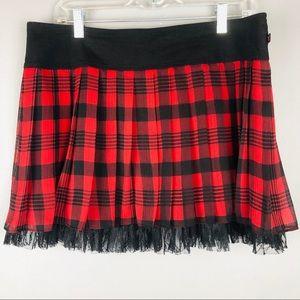 ROYAL BONES Naughty School Girl Skirt